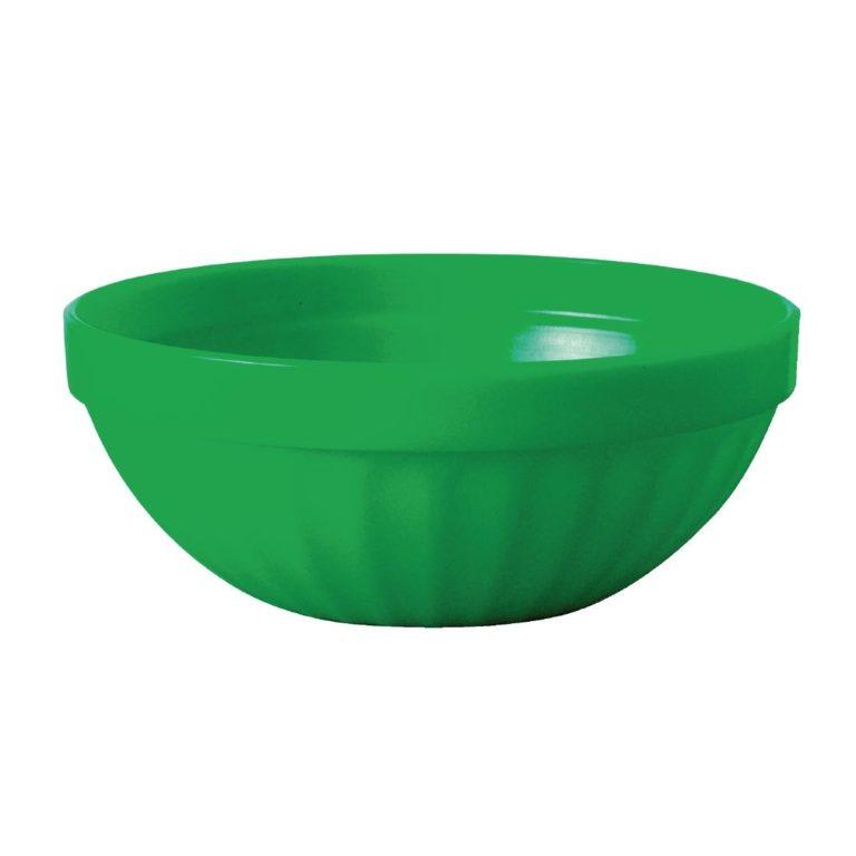 Kristallon Polycarbonate Bowls Green 102mm