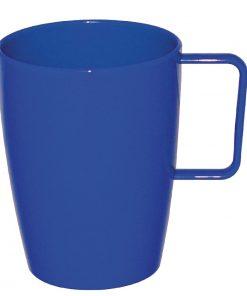 Kristallon Polycarbonate Handled Beakers Blue 284ml