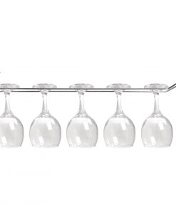 Olympia Wine Glass Rack Chrome 610mm