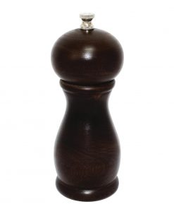 Dark Wood Salt and Pepper Mill 6in