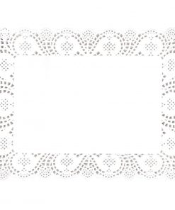 Fiesta Paper Doily Rectangular