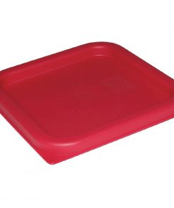 Vogue Square Lid Red Large