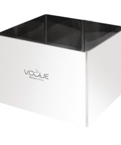 Vogue Square Mousse Rings 60 x 80 x 80mm Extra Deep