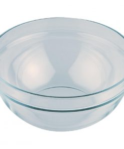APS Glass Bowl Large 230mm