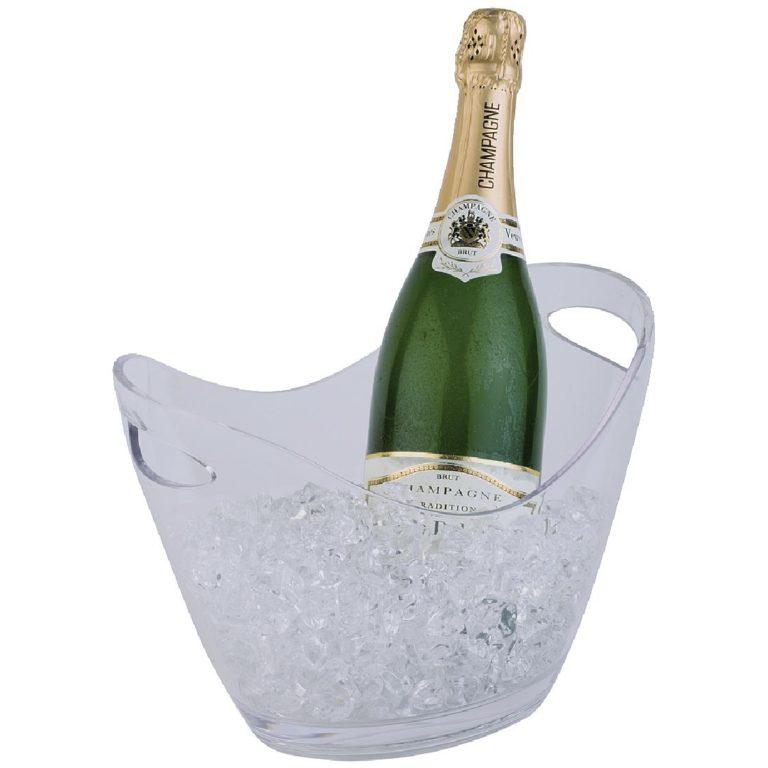 APS Acrylic Wine And Champagne Bucket