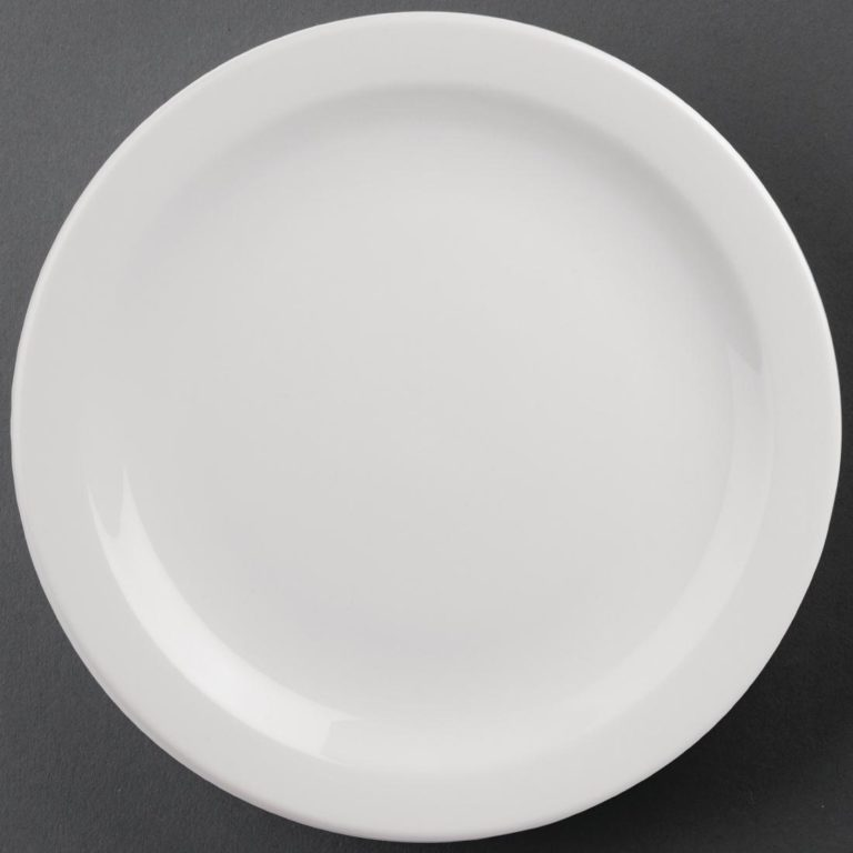 Athena Hotelware Narrow Rimmed Plates 284mm