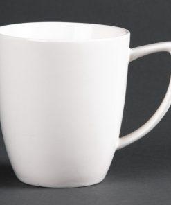 Lumina Fine China Latte Mugs 284ml 10oz