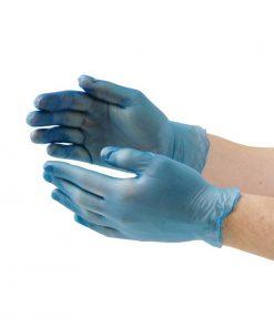 Vogue Powder Free Vinyl Gloves L