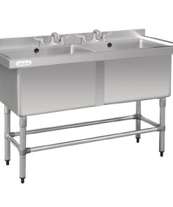 Vogue Double Deep Pot Sink