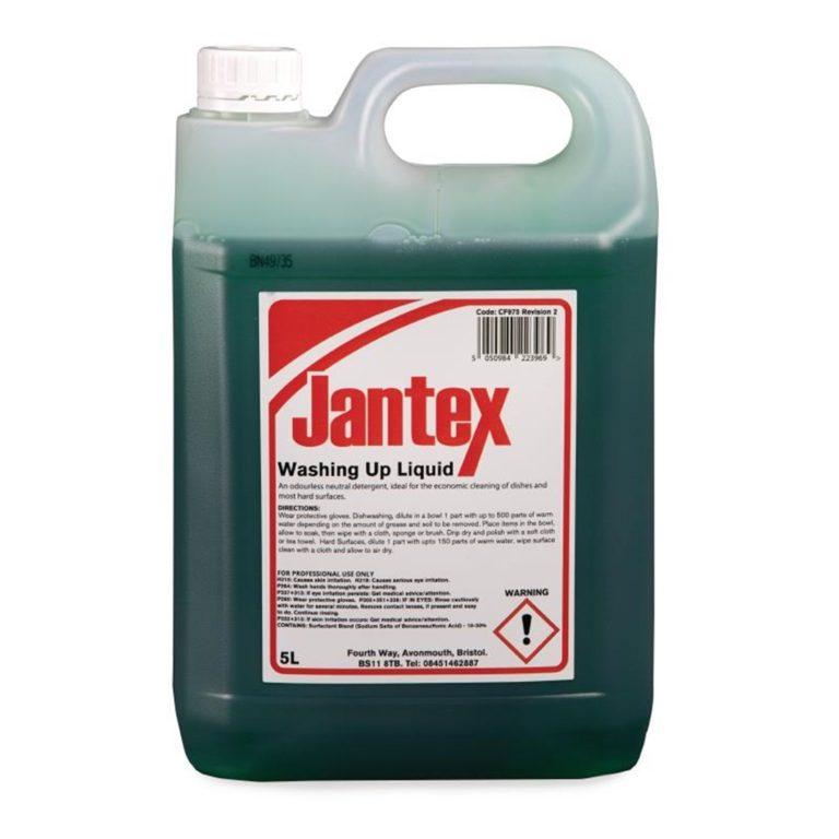 Jantex Washing Up Liquid 5 Litre