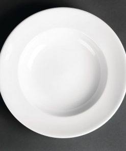 Royal Porcelain Classic White Pasta Plates 260mm