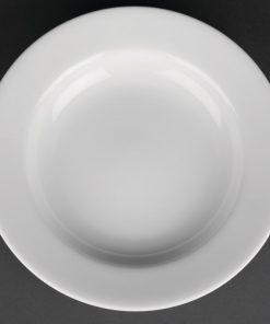 Royal Porcelain Classic White Soup Plates 235mm