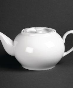 Royal Porcelain Oriental Teapot with lid 1Ltr