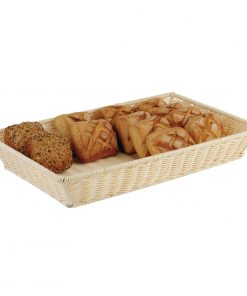 APS Polypropylene Rattan Display Basket 300 x 220mm