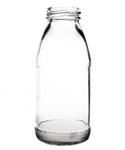 Olympia Glass Milk Bottle 200ml