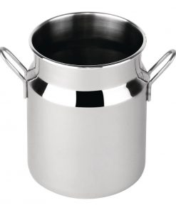 Olympia Stainless Steel Mini Milk Churn Large 400ml