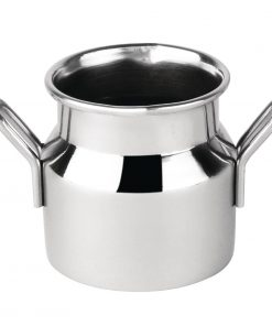 Olympia Stainless Steel Mini Milk Churn Small 60ml
