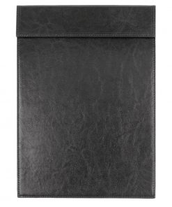 Olympia Leather Effect Magnetic Clipboard A4