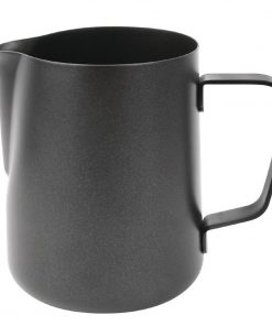 Olympia Black Non-Stick Milk Frothing Jug 340ml