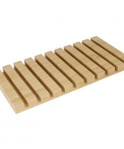 Olympia Bamboo Menu Clipboard Rack