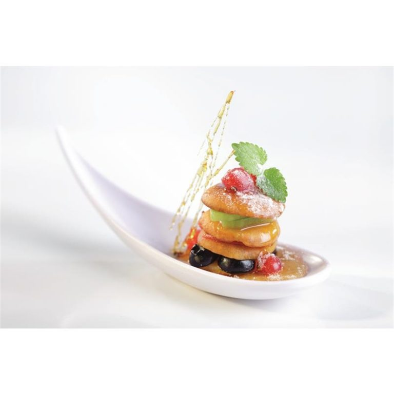 APS Boat Canape Spoon 145mm White
