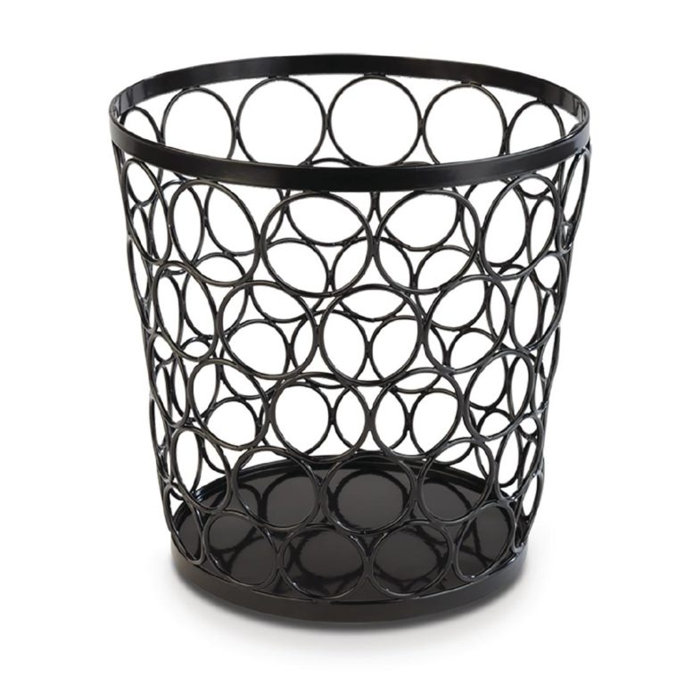 APS Plus Metal Basket Black 210 x 210mm