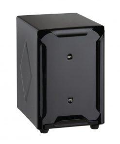 Olympia Stainless Steel Napkin Dispenser Black