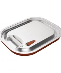 Vogue Stainless Steel and Silicone Sealable Gastronorm Lid 1/2