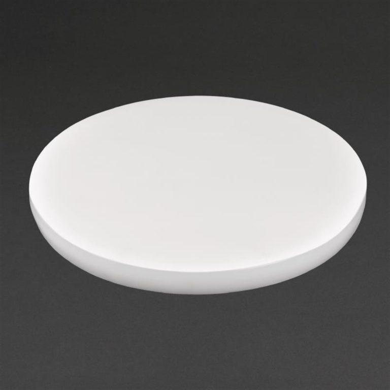 Hygiplas Round Chopping Board White 360mm