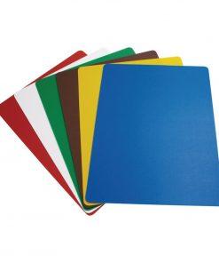Hygiplas Colour Coded Chopping Mats Set Large