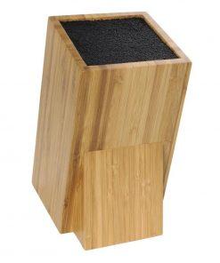 Vogue Wooden Universal Knife Block