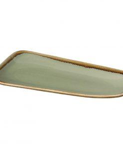 Olympia Kiln Platter Moss 335mm
