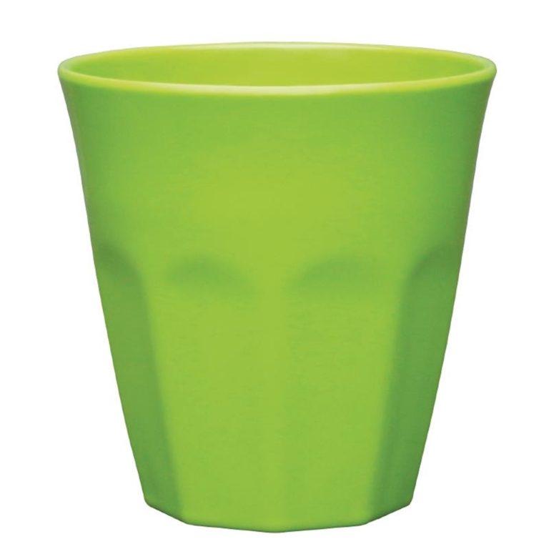 Kristallon Melamine Plastic Tumbler Green 290ml