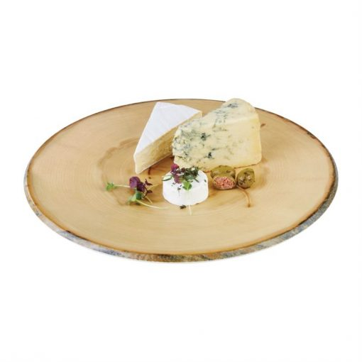 APS Timber Round Melamine Platter 350mm