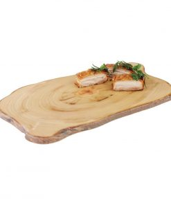 APS Timber Rectangular Melamine Platter 440 x 250mm