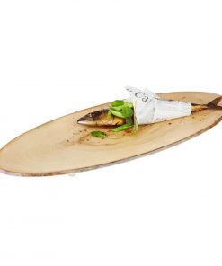 APS Timber Oval Melamine Platter 650 x 260mm
