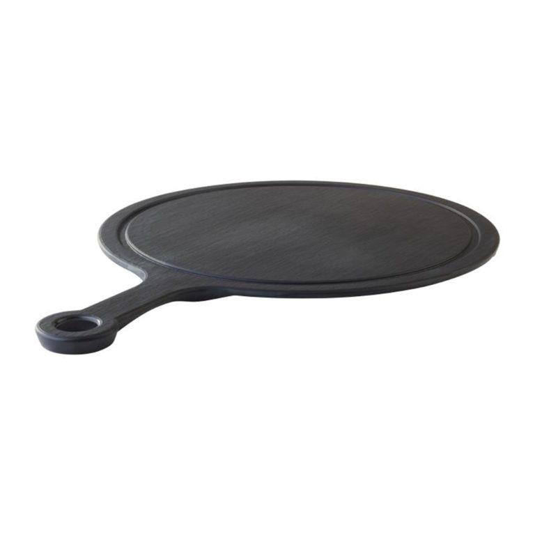 APS Slate Melamine Handled Platter 340 mm