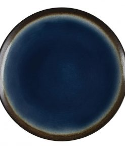 Olympia Nomi Round Coupe Plate Blue 198mm