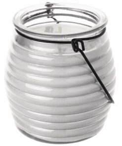 Olympia Beehive Jar Candle Clear