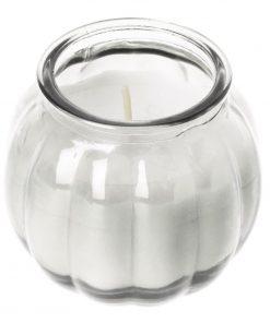 Olympia Pumpkin Jar Candle Clear