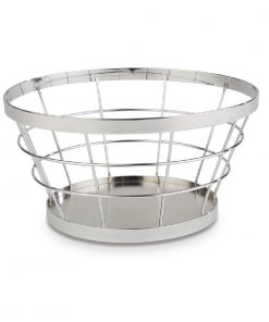APS Plus Metal Basket Chrome 110 x 210mm