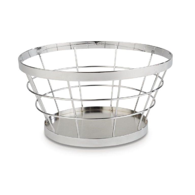 APS Plus Metal Basket Chrome 110 x 210mm