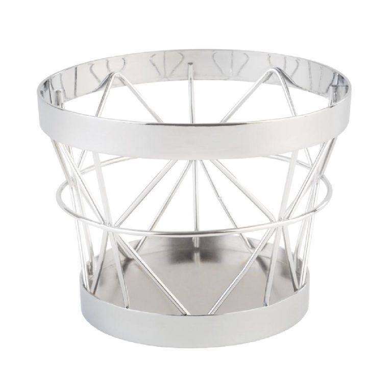 APS Plus Metal Basket Chrome 80 x 105mm