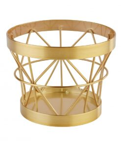 APS Plus Metal Basket Gold Brushed 80 x 105mm