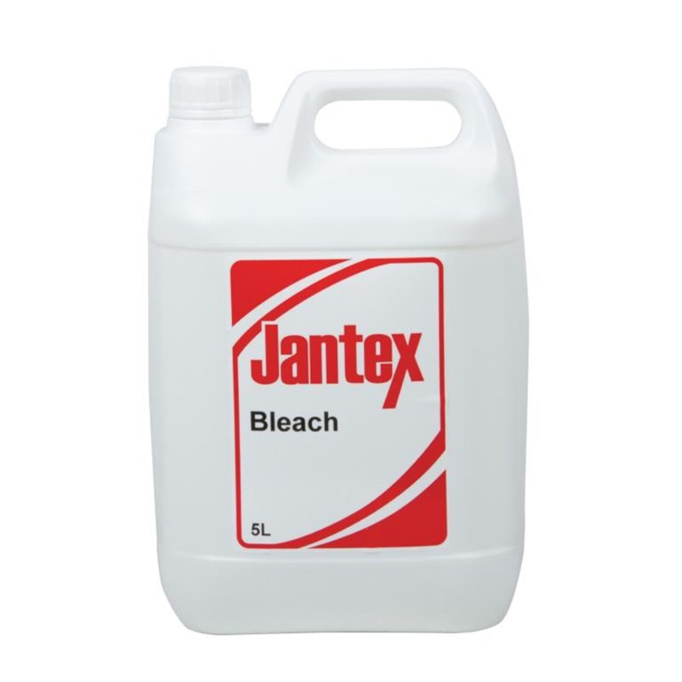 Jantex Sodium Hypochlorite Bleach 5 Litre (Pack of 2)