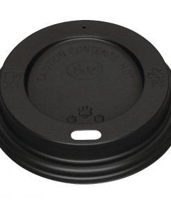 Black Lid for Fiesta 225ml / 8oz Coffee Cups x 1000