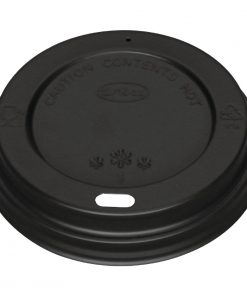 Black Lid for 340ml and 455ml Fiesta Coffee Cups x 1000