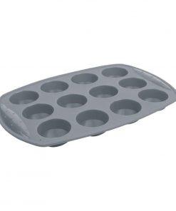 Vogue Flexible Silicone 12 Hole Cupcake Pan