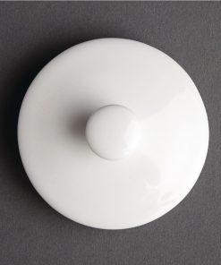 Spare Teapot Lid For Royal Porcelain Classic White 300ml Teapot CG039
