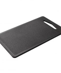 Hygiplas Bar Chopping Board Black 255mm